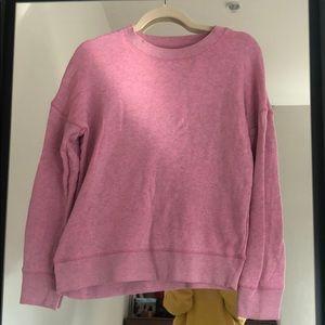 Madewell Pink Sweatshirt XS